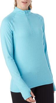 PRO TOUCH  Casca Da.Langarmshirt, Halfzipp, Damen blau