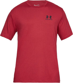 Under Armour SPORTSTYLE LEFT T-Shirt Herren rot