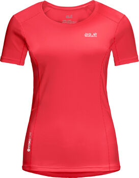 Jack Wolfskin Narrows T-Shirt Damen rot