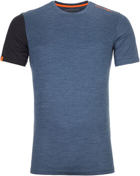 ORTOVOX 185 Rock'n'Wool T-Shirt Herren blau