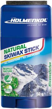 HOLMENKOL  Natural StickSkiwachs weiß