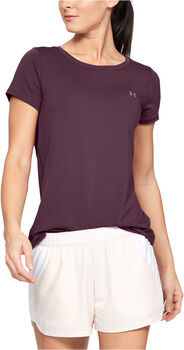 Under Armour HEATGEAR ARMOUR T-Shirt Damen lila