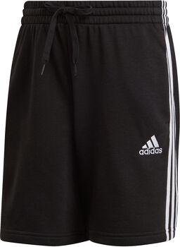 adidas Essentials French Terry 3-Streifen Shorts Herren schwarz