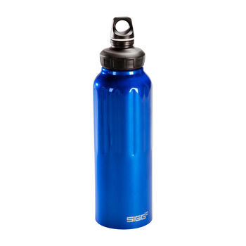 Sigg Wide Mouth Traveller Alu-Trinkflasche blau