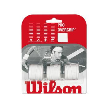 Wilson PRO OVERGRIP Tennisgriffband weiß