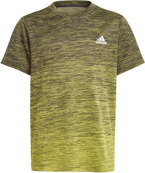 adidas Aeroready Gradient T-Shirt Jungen schwarz