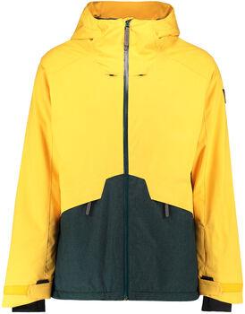 O'Neill PM Quartzite Snowboardjacke mit Kapuze gelb