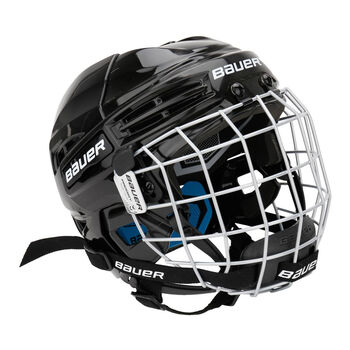 BAUER  Prodigy Combo HelmetEishockeyhelm Jr. inkl. Herren schwarz