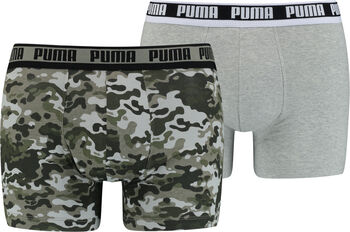 Puma Camo Boxershorts 2er Pack Herren grün