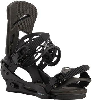 Burton Mission Freestyle Snowboardbindung schwarz