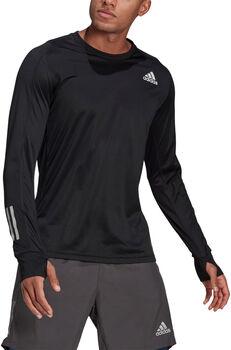 adidas Own The Run Langarmshirt Herren schwarz