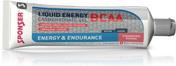 SPONSER Liquid Energy BCAA Gel rot