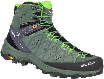 Salewa Alp Trainer 2 MID Trekkingschuhe Herren grün