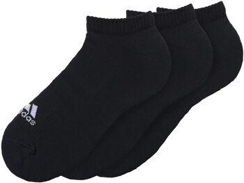 adidas 3-Streifen Performance No-Show C 3er-Pack Socken Herren schwarz