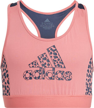 adidas Designed To Move Leopard Sport-BH rot