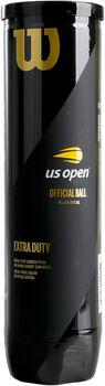 Wilson US OPEN 4er Tennisbälle gelb