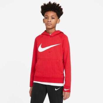 Nike Sportswear Swoosh Hoodie rot
