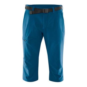 Maier Sports Jennisei 3/4 Wanderhose Herren blau