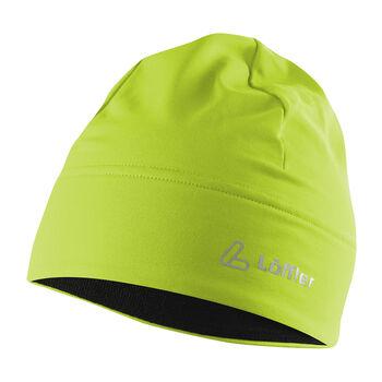 LÖFFLER Mono Mütze grün