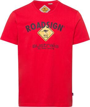 Roadsign T-Shirt Herren rot