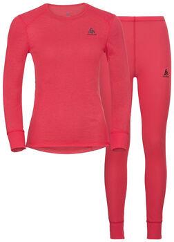 Odlo Active Warm Unterwäscheset Damen pink