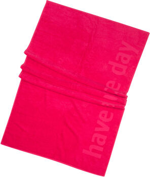 FIREFLY Strandtuch Finn pink