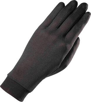 ZANIER Silk Liner Touch Unterziehhandschuhe schwarz