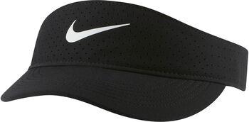 Nike Court Advantage Visor Kappe schwarz