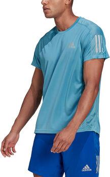 adidas Own The Run T-Shirt Herren blau