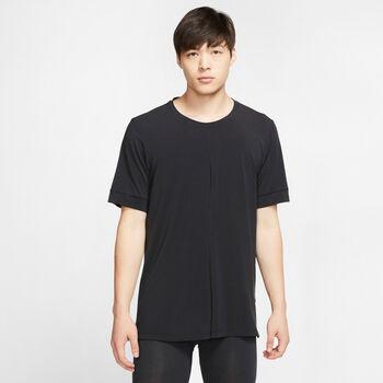 Nike Dry Yoga T-Shirt Herren schwarz