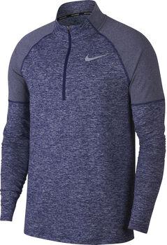 Nike Element Half Zip 2.0 Langarmshirt Herren blau