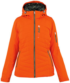 Icepeak Palmvew XF Skijacke mit Kapuze Damen orange