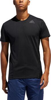 adidas Aeroready 3-Streifen T-Shirt Herren schwarz