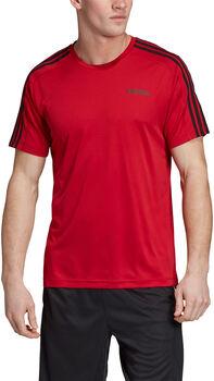 ADIDAS D2M 3S T-Shirt Herren rot