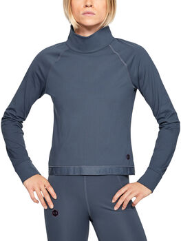 Under Armour Coldgear® Rush Langarmshirt Damen grau