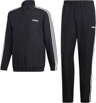 adidas 3-Streifen Woven Cuffed Trainingsanzug Herren schwarz
