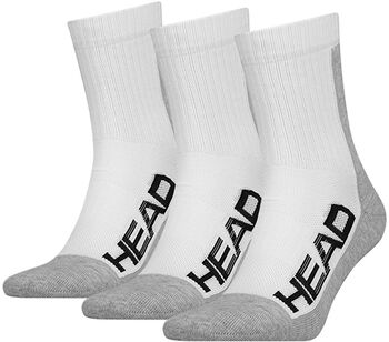 Head 3P Performance Tennissocken weiß