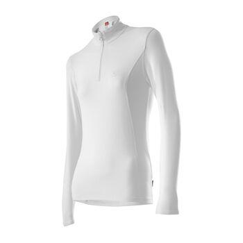 LÖFFLER Basic Transtex® Langarmshirt Damen weiß