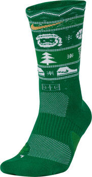 Nike Elite Crew X-Mas Socken grün