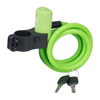 Soft Spiralkabelschloss mit Schlüssel