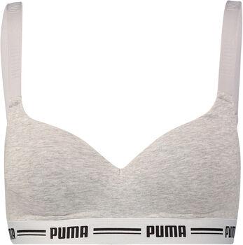 Puma  Iconic Padded Top HangDa. BH                 NOS Damen grau