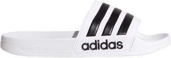 adidas Adilette Cloudfoam Wellnesssandalen Herren weiß