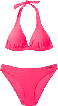 FIREFLY Neckholder Bikini Dela Damen rot