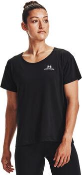 Under Armour Rush Energy Core T-Shirt Damen schwarz
