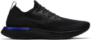 Nike Epic React Flyknit Laufschuhe Herren schwarz