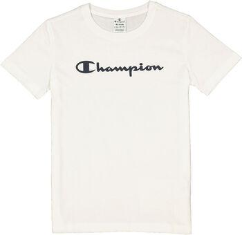 Champion Crewneck T-Shirt Damen weiß