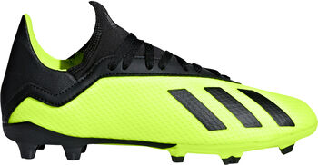 adidas X 18.3 FG Fußballschuhe gelb