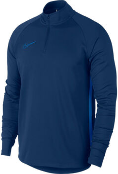 Nike Dri-FIT Academy Langarmshirt Herren blau