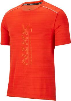 Nike Dri-FIT Miler T-Shirt Herren orange