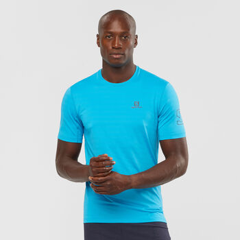 Salomon X Alps T-Shirt Herren blau